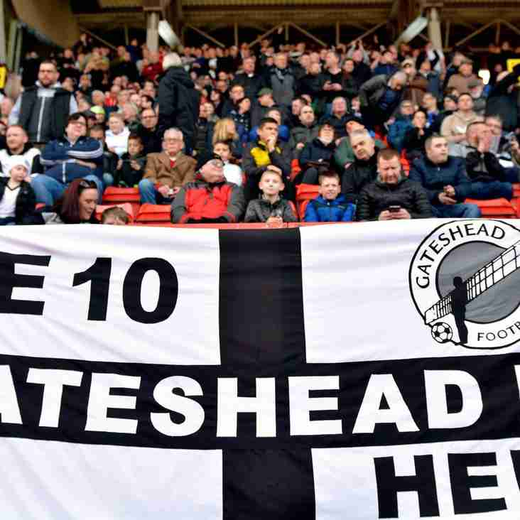 Gateshead Seek New Owners To Push Club Forward Next Year