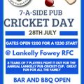 Lankelly Fowey RFC 7-a-side cricket day