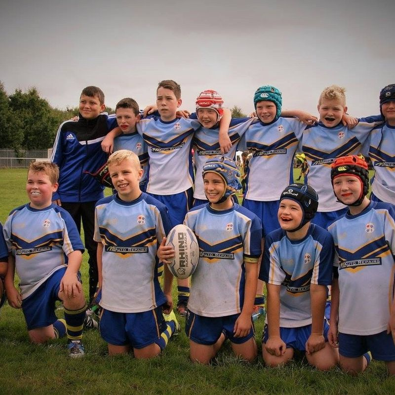 Under 12's Blues beat West Bank Bears 16 - 14