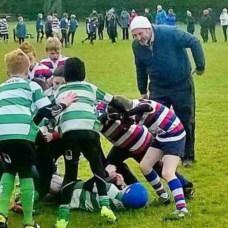 North Kildare U10's - Triumph despite pitch & cold.