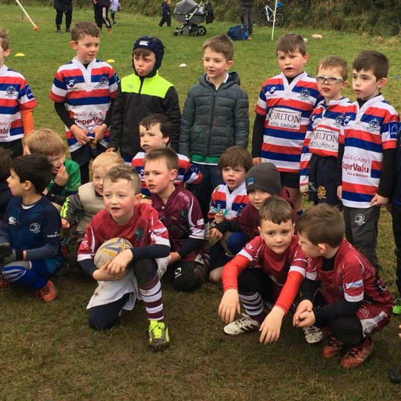 North Kildare Under 7s seize the initiative.