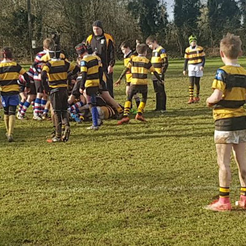 North Kildare u11's  Out-class in Newbridge RFC
