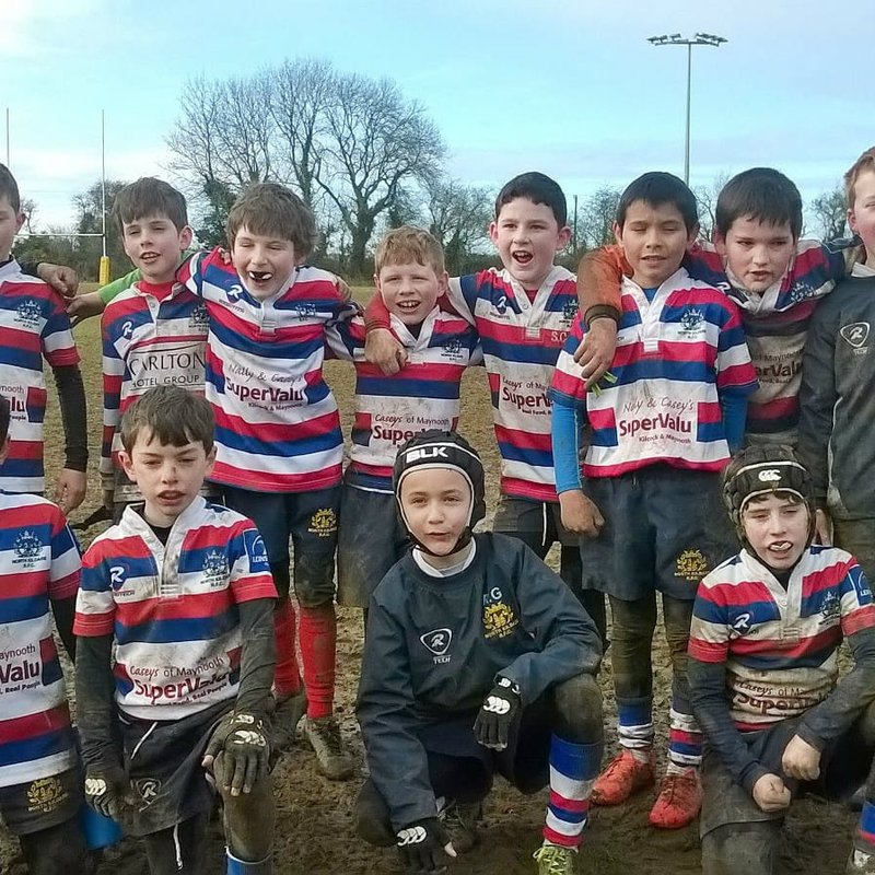 North Kildare U10's travelled to Newbridge on a fresh mid-term break Saturday Morning.