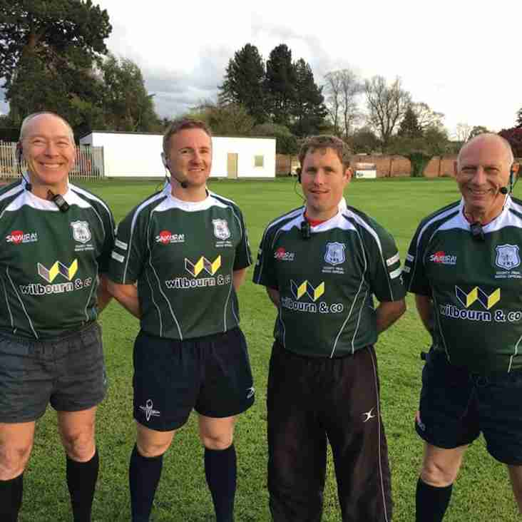 Bobby Dazzlers! - Yorkshire Cup Final, Match Officials in their Samurai Kit