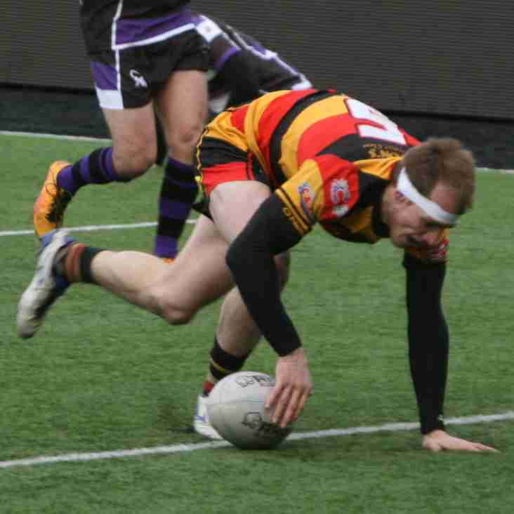 Recs Ready to go again in Challenge Cup