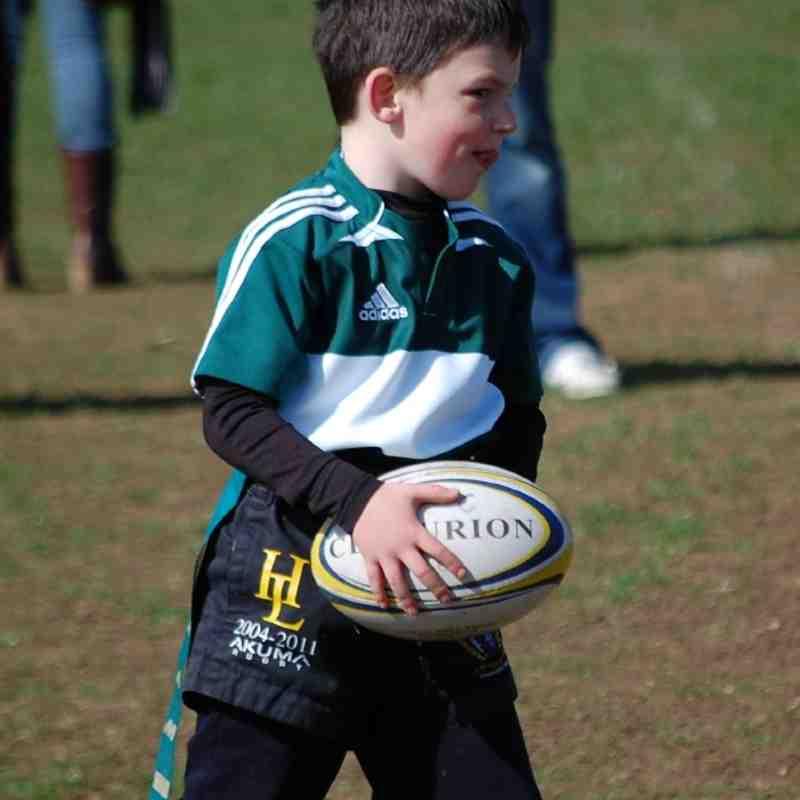 Hinckley U8's V Oadby Wiggs 1-4-2012