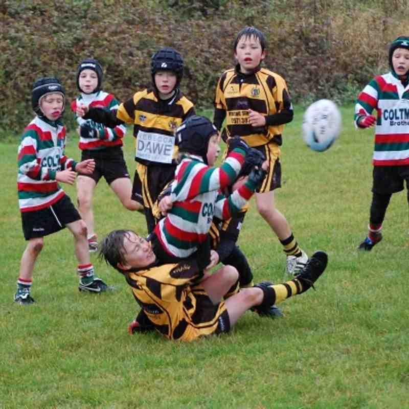 Hinckley Under 9's V Lutterworth 4-11-12