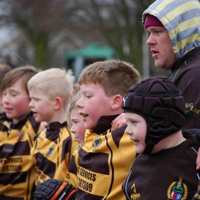 Hinckley U9's County Cup Prelim's 24/2/13