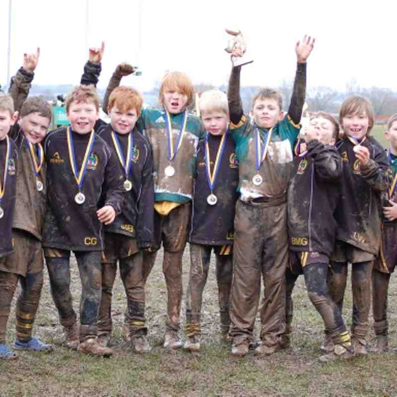 Hinckley Under 9's Loughborough Festival winners