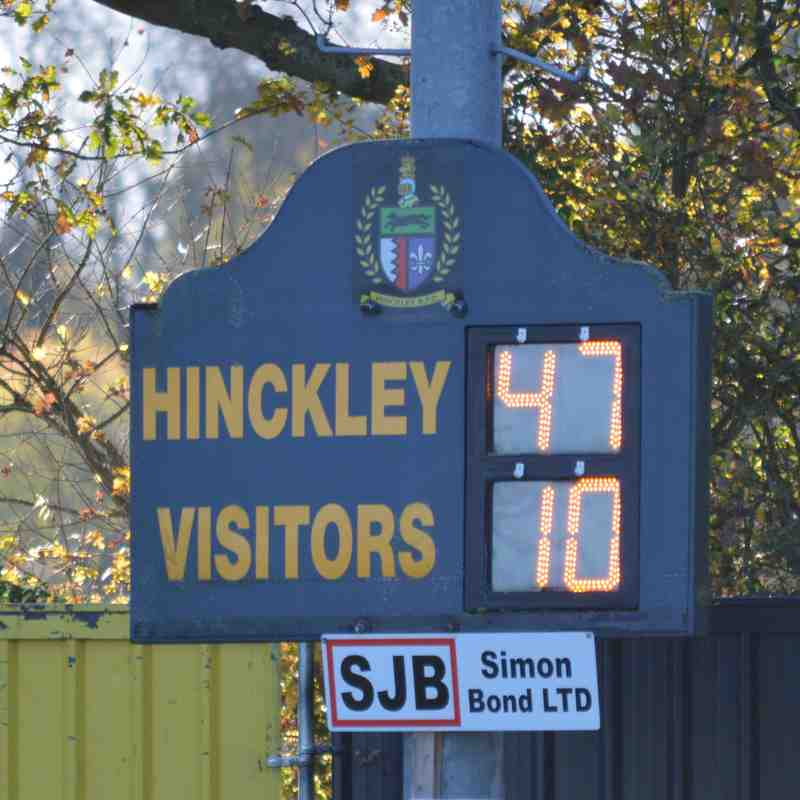 Hinckley U14s V Tamworth