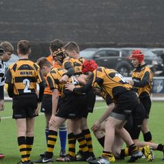 Stourbridge U14s V Hinckley RFC U14s