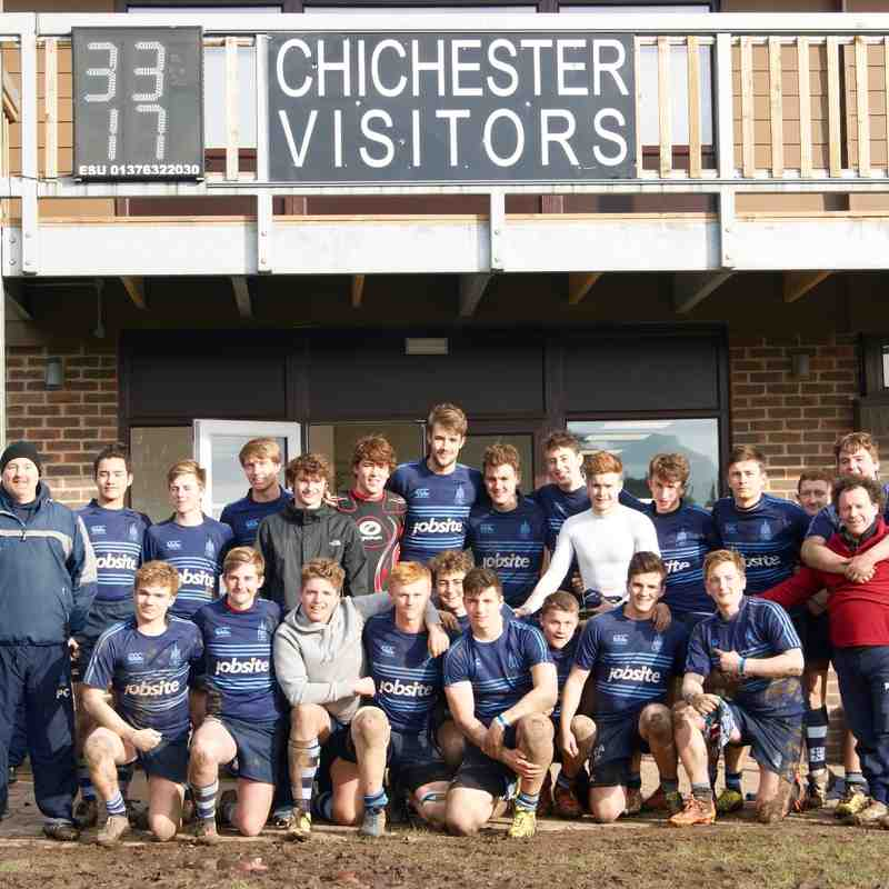 Chichester Colts 33 v 17 Pulborough Colts