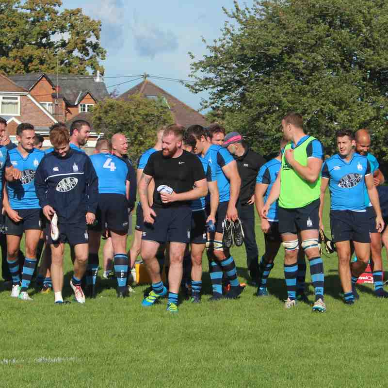 Tottonians 34 v 67 Chichester - 09/09/17