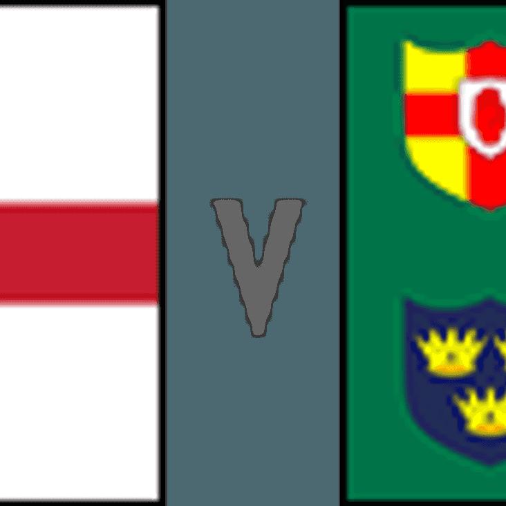 England v Ireland and Chichester v Aldershot & Fleet