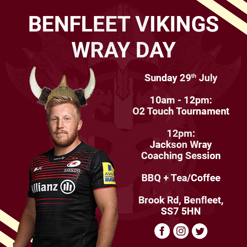Benfleet Vikings Wray Day