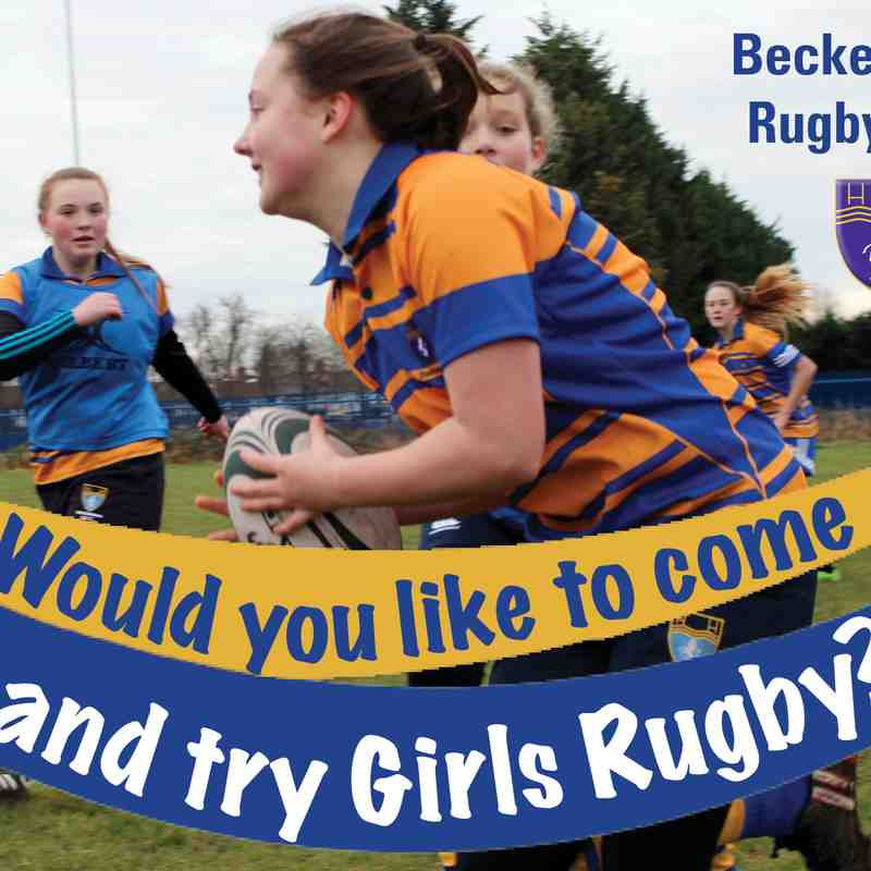 U13 Girls Rugby - Would you like to come and try Girls Rugby?