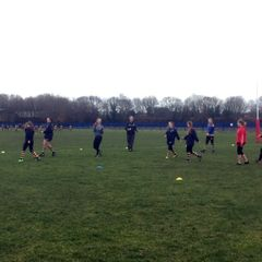 U13's and U15's Girls training