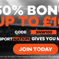 Betting with SportNation.bet and extra prizes for 50/50 draw vs Sutton United