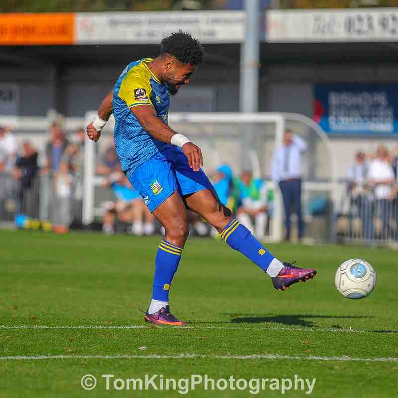 vs Havant & Waterlooville - 29/09/2018