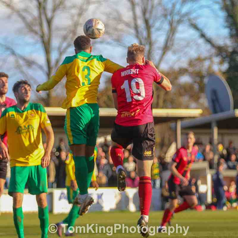 vs Hitchin Town - 11/11/2018