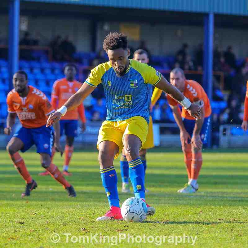 vs Braintree Town - 17/11/2018