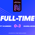 Steel City Wanderers 0 Solihull Moors Ladies 3