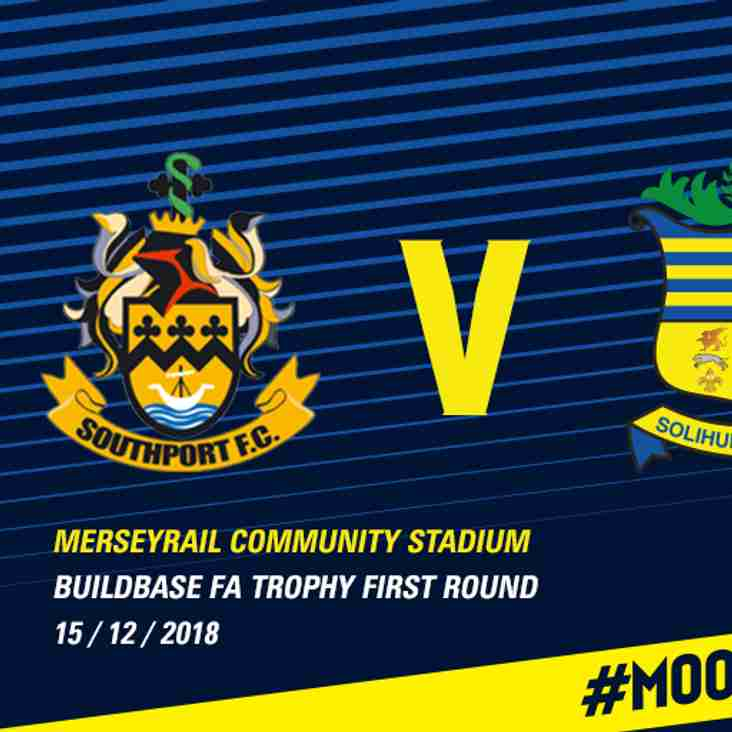 FA Trophy: Southport test for Moors