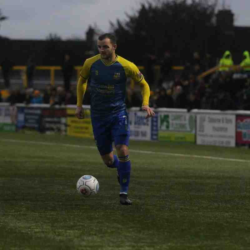 vs Sutton United - 08/12/2018