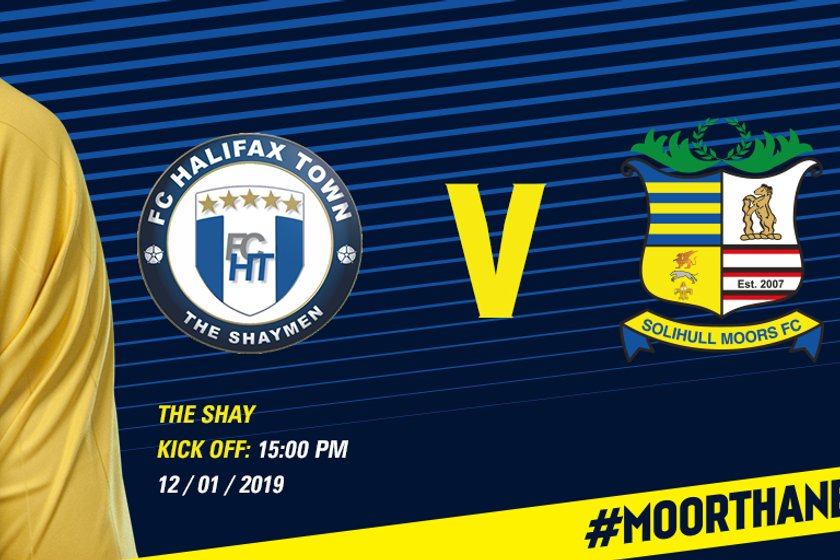 FA Trophy: Moors face trip to Halifax