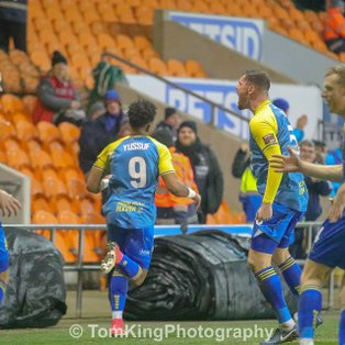 Blackpool 3 Solihull Moors 2 (after extra time)