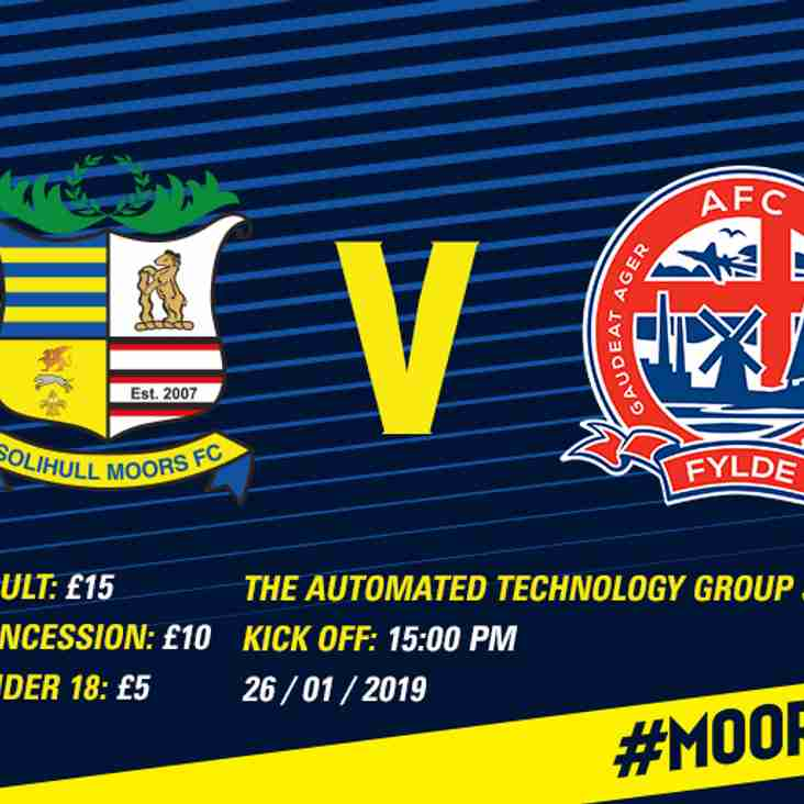 AFC Fylde: Tickets and hospitality