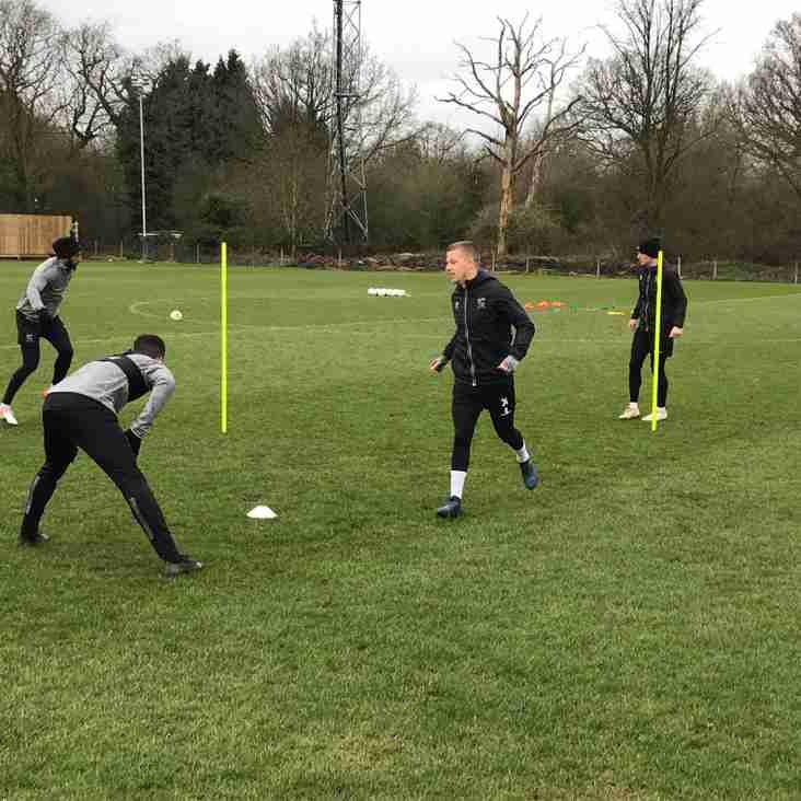 Watch: Training pre AFC Fylde...