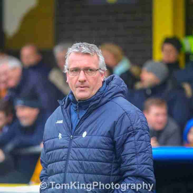 Tim Flowers reacts to Fylde defeat