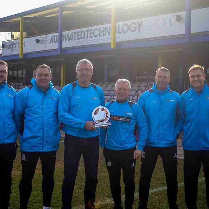 Flowers wins January Manager of the Month