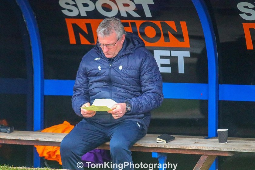 Tim Flowers reacts to Halifax defeat