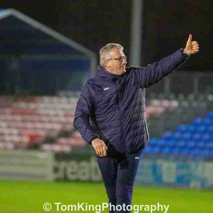 Watch: Tim Flowers reacts to Boreham Wood draw