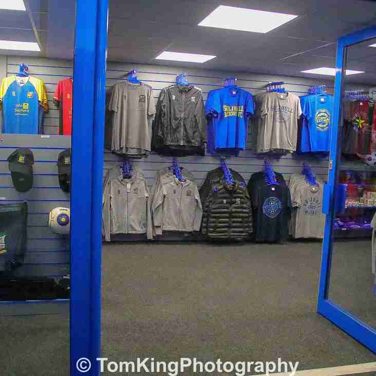 New Club Shop opening times confirmed