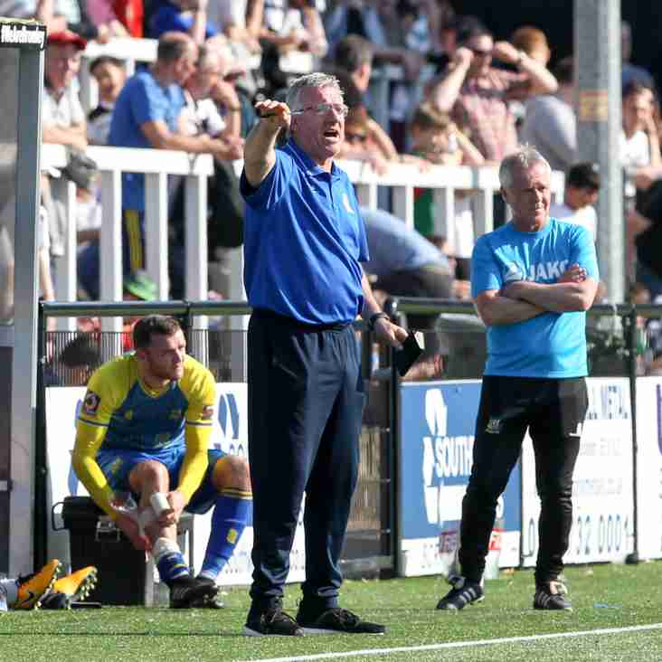 Reaction: Flowers and Wright on Bromley victory