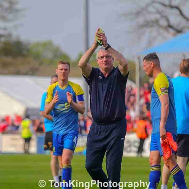 Tim Flowers reacts to Leyton Orient draw
