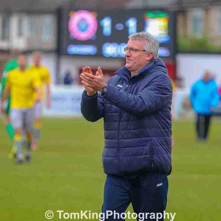 Tim Flowers reacts to Dagenham draw