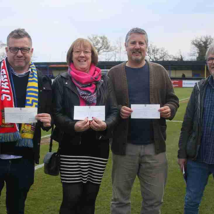 Local charities receive Community Shield funding