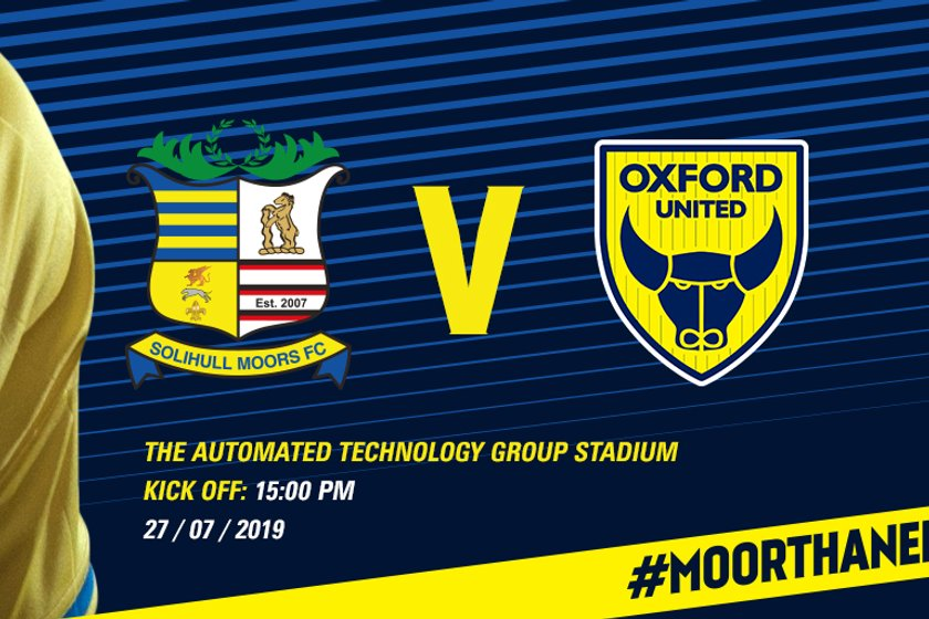 Oxford United friendly confirmed