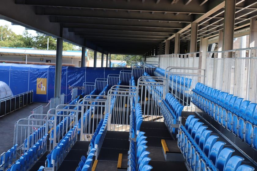 Damson Homes Stand seating to remain closed
