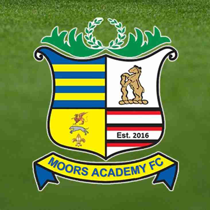 Moors expand Academy and launch Under 21's Team in Midland Football League