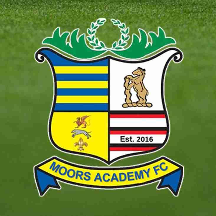 Moors Academy 4 Quorn FC 0