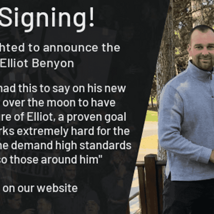 Elliot Benyon joins the Tanners