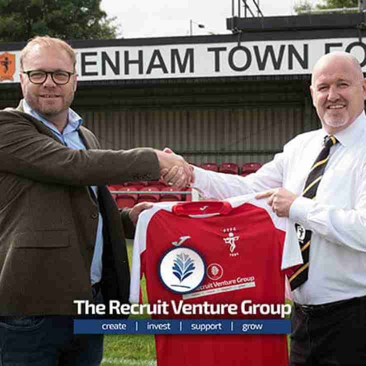 The Recruit Venture Group is proud to announce a shirt sponsorship deal with Fakenham Town Football Club.