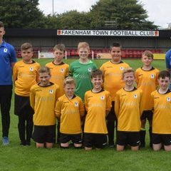 U12 Town lose to Norwich United Youth FC Lions 0 - 9