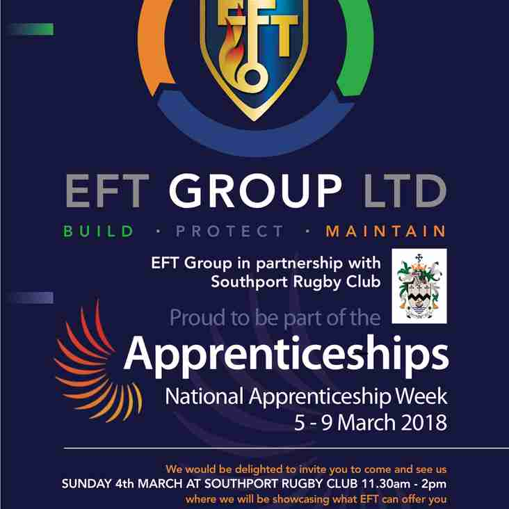 EFT APPRENTICESHIP EVENT IS TODAY