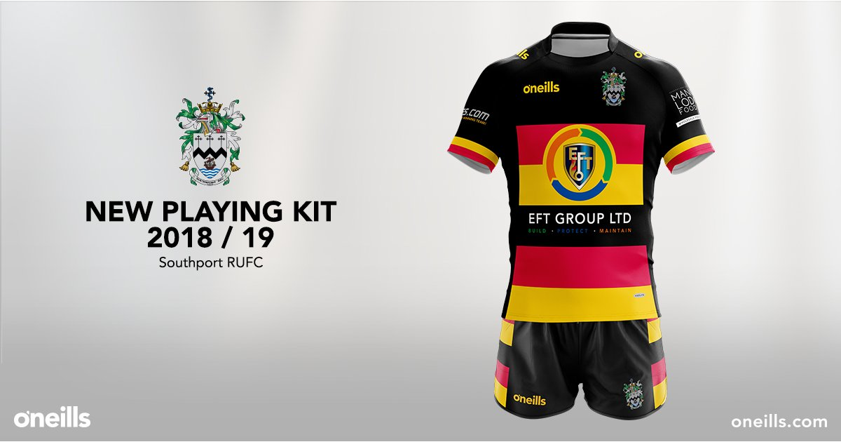 Home Kit Released - News - Southport Rugby Football Club